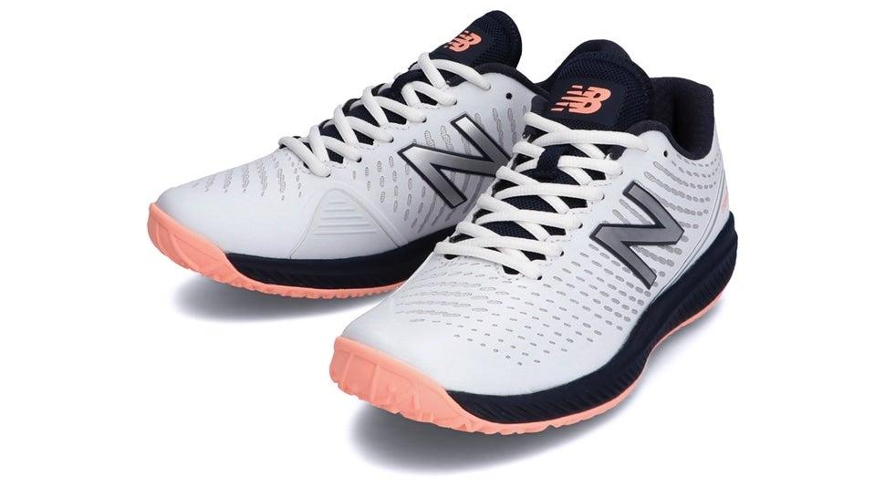 (NB公式)【ログイン購入で最大8%ポイント還元】 ウイメンズ WCO796 A2 (ホワイト) テニス オムニ・クレーコート用シューズ 靴 ニューバランス newbalance