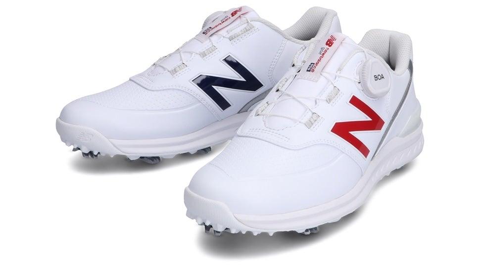 (NB公式)【ログイン購入で最大8%ポイント還元】 ウイメンズ WGB996 TR (ホワイト) ゴルフ スパイク シューズ 靴 ニューバランス newbalance
