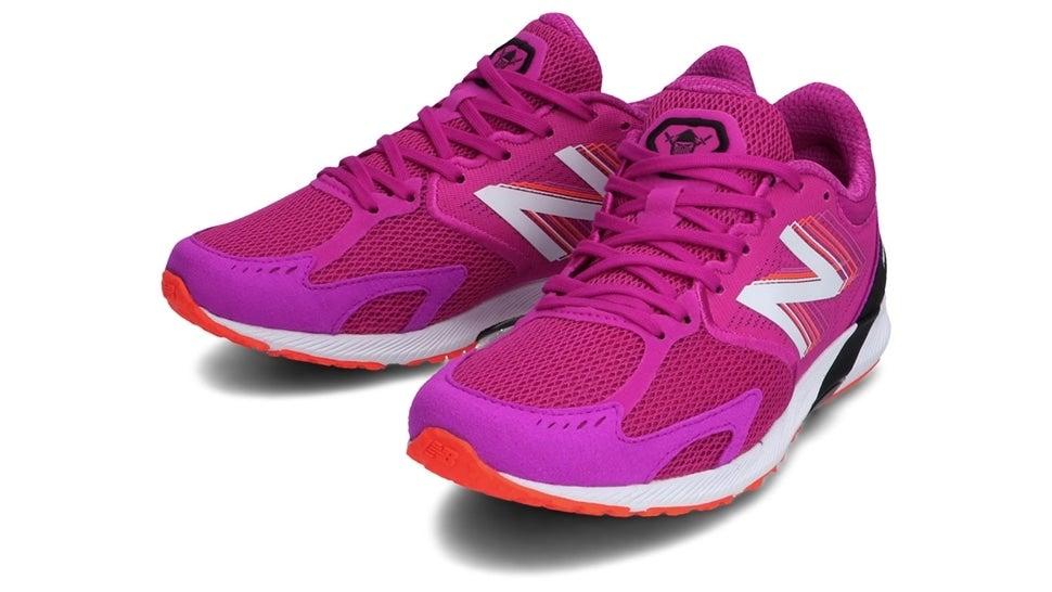 (NB公式)【ログイン購入で最大8%ポイント還元】 ウイメンズ NB HANZO R W P3 (ピンク) ランニングシューズ 靴 ニューバランス newbalance