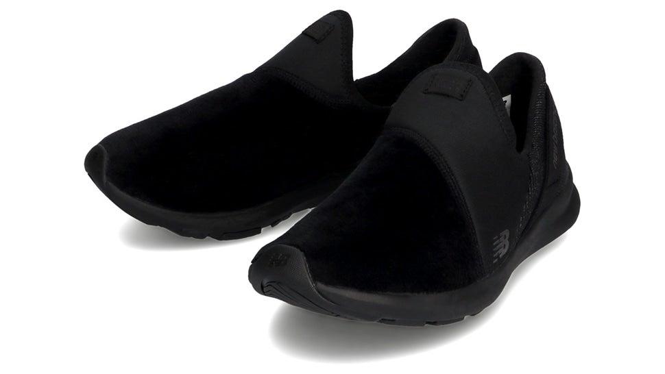 (NB公式)【30%OFF】(ログイン購入で最大8%ポイント還元) ウイメンズ NB NERGIZE EZ SLIP-ON W PK (ブラック) トレーニングシューズ 靴 ニューバランス newbalance セール