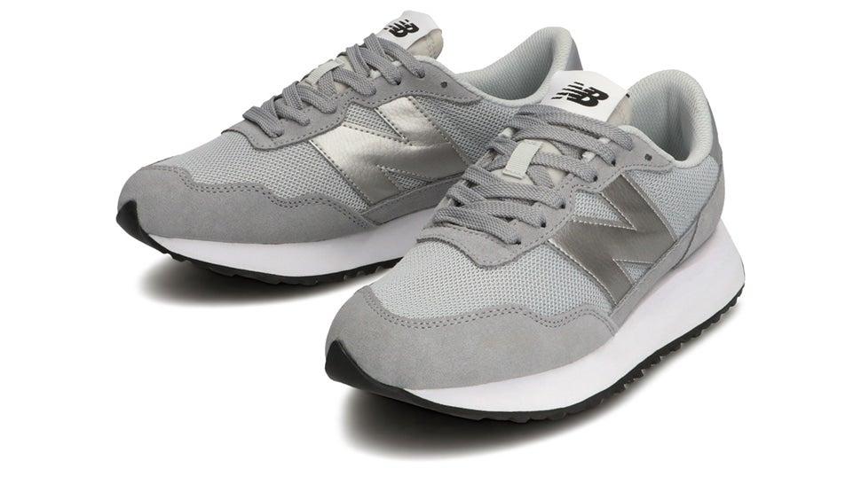 (NB公式)【ログイン購入で最大8%ポイント還元】 ウイメンズ WS237 CD (グレー) スニーカー シューズ 靴 ニューバランス newbalance