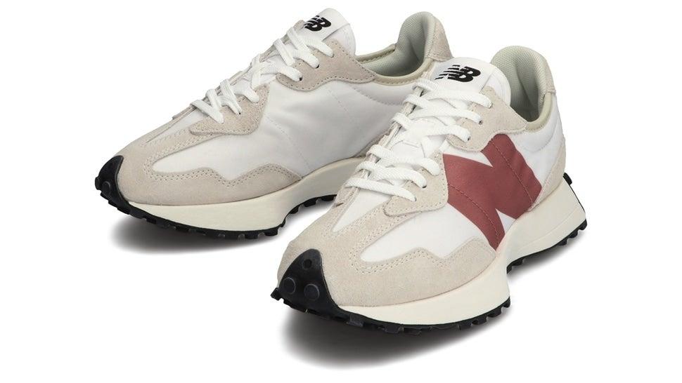 (NB公式)【ログイン購入で最大8%ポイント還元】 ウイメンズ WS327 CD (ホワイト) スニーカー シューズ 靴 ニューバランス newbalance