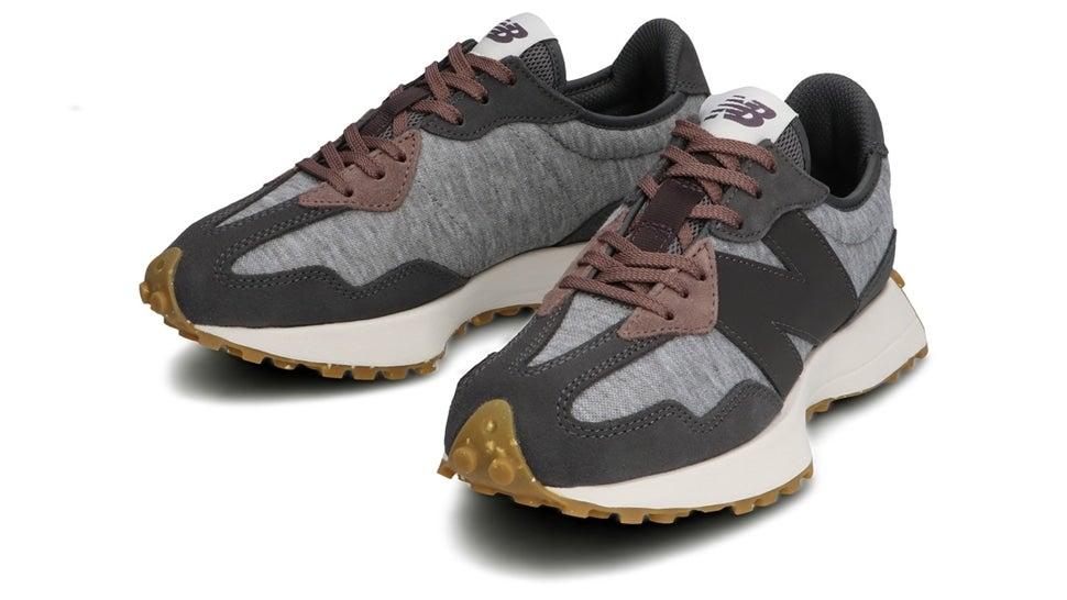 (NB公式)【ログイン購入で最大8%ポイント還元】 ウイメンズ WS327 WT (グレー) スニーカー シューズ 靴 ニューバランス newbalance