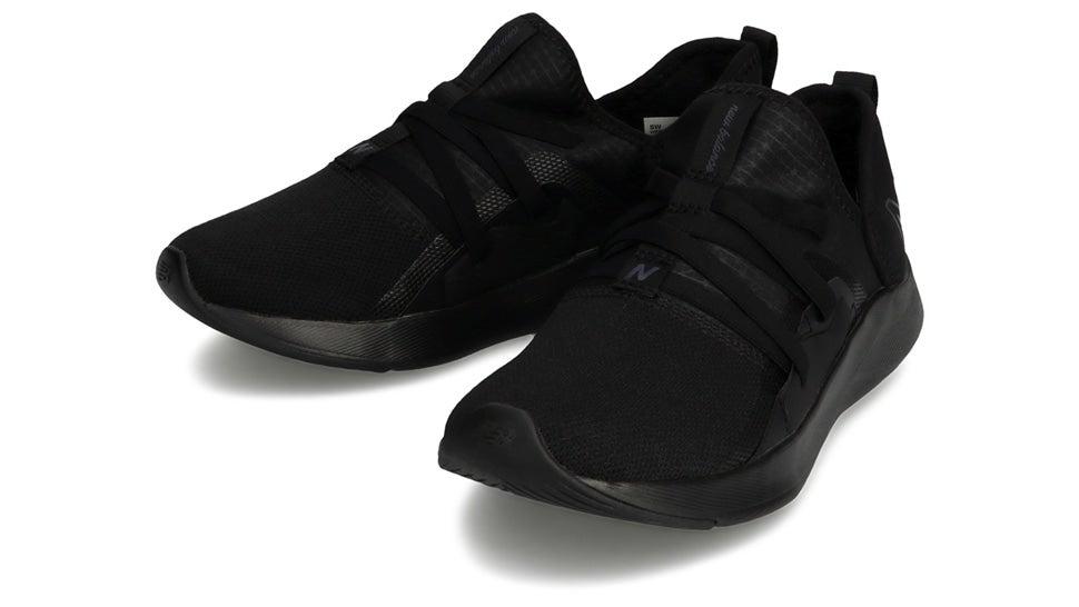 (NB公式)【ログイン購入で最大8%ポイント還元】 ウイメンズ BEAYA SLIP-ON W LK (ブラック) ランニングシューズ フィットネス 靴 ニューバランス newbalance