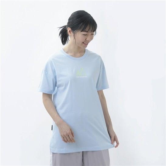 (NB公式)【40%OFF】(ログイン購入で最大8%ポイント還元) ウイメンズ NB All Terrain ショートスリーブ Tシャツ (ブルー) ライフスタイル ウェア / トップス ニューバランス newbalance セール