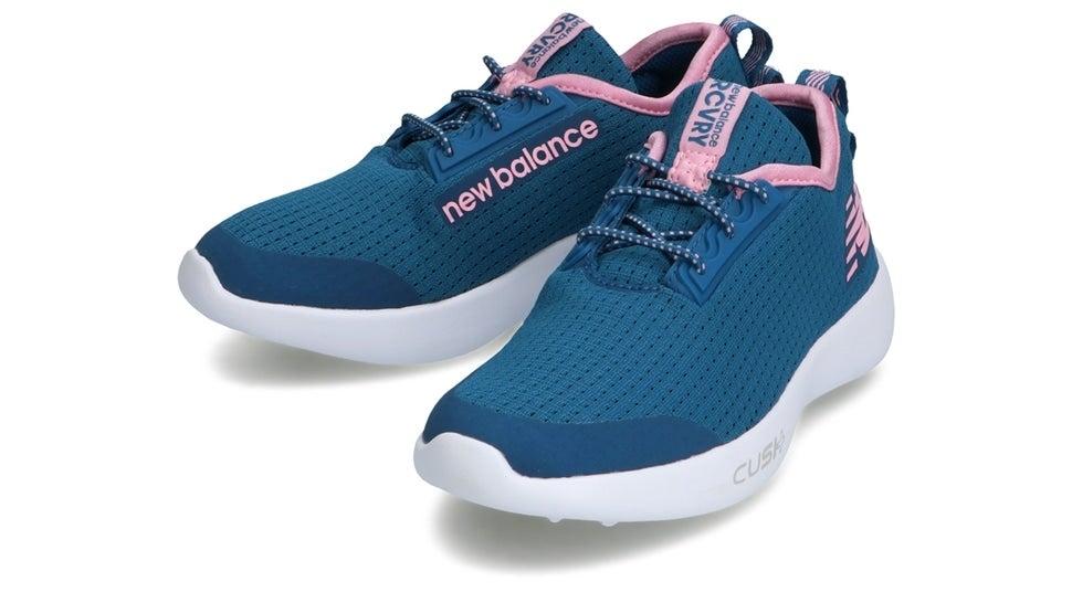 (NB公式)【ログイン購入で最大8%ポイント還元】 キッズ NB RCVRY Y OP (ブルー) スニーカー シューズ 靴 ニューバランス newbalance