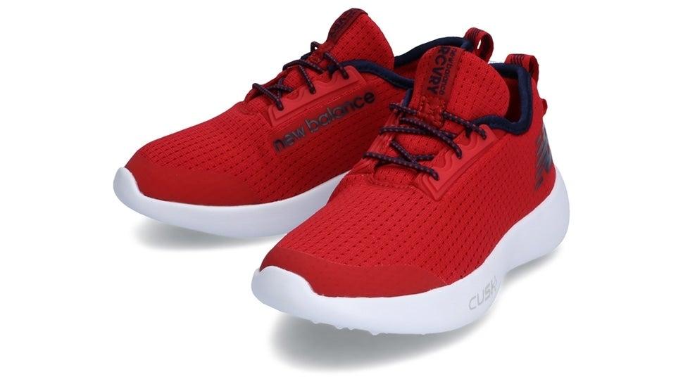 (NB公式)【ログイン購入で最大8%ポイント還元】 キッズ NB RCVRY Y RN (レッド) ランニングシューズ 靴 ニューバランス newbalance