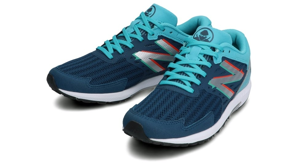 (NB公式)【ログイン購入で最大8%ポイント還元】 キッズ NB HANZO J W4 (ブルー) ランニングシューズ 靴 ニューバランス newbalance