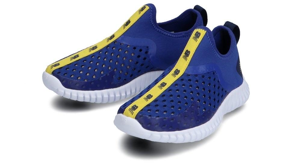 (NB公式)【ログイン購入で最大8%ポイント還元】 キッズ AQUA DRIFT Y LM1 (ブルー) ランニングシューズ 靴 ニューバランス newbalance