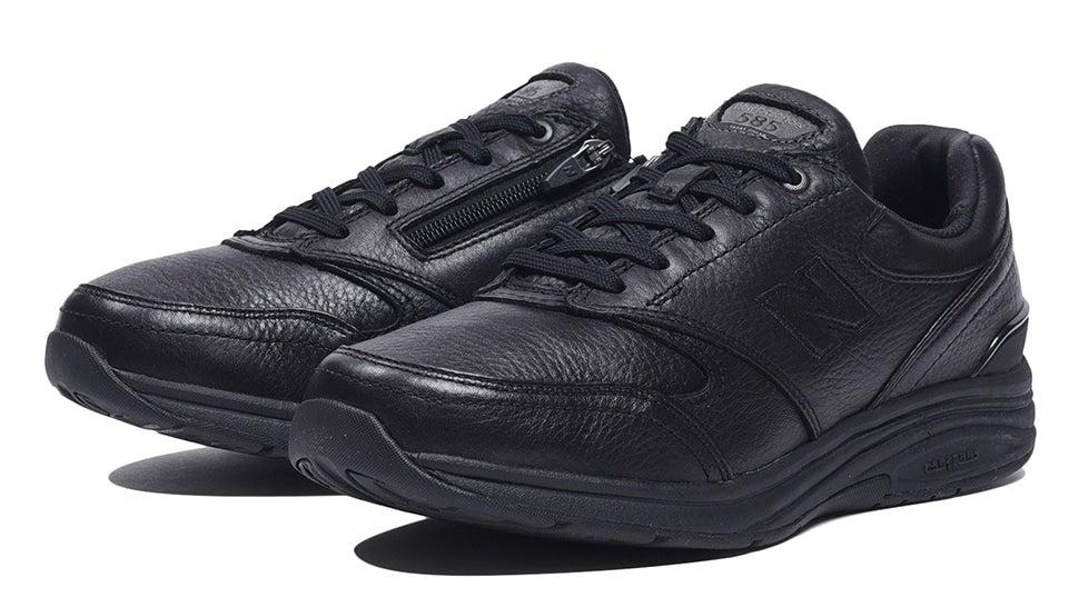 (NB公式)【ログイン購入で最大8%ポイント還元】 メンズ MW585 BK (ブラック) ウォーキングシューズ タウン 靴 ニューバランス newbalance