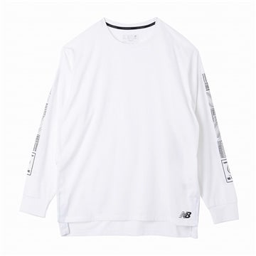 【SALE】997S プリント ヘザーテック ロングスリーブ Tシャツ