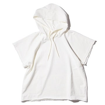 GARMENT DYE HOODED T-SHIRTS(PRINTED)