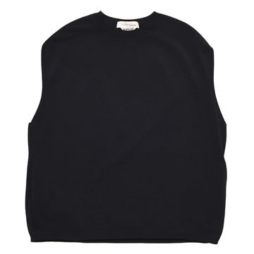 AURALEE × TOKYO DESIGN STUDIO New Balance WHOLEGARMENT KNIT CREW NECK NO SLEEVE