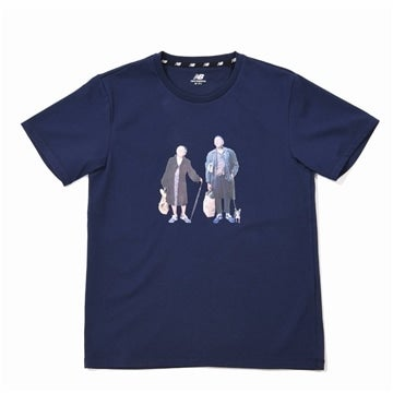 New Balance × BEAMS BOY  Granpa Granma Tシャツ