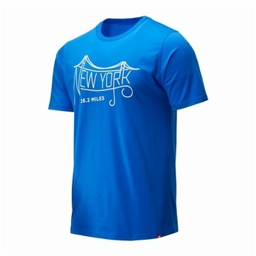 NYC MARATHON BRIDGE Tシャツ