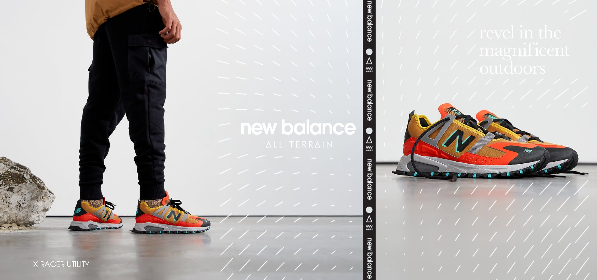 New Balance All Terrain. X RACER UTILITY