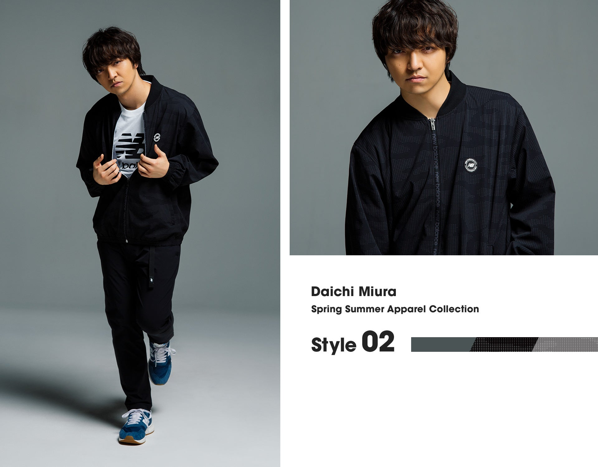 Daichi Miura. Spring Summer Apparel Collection Style02