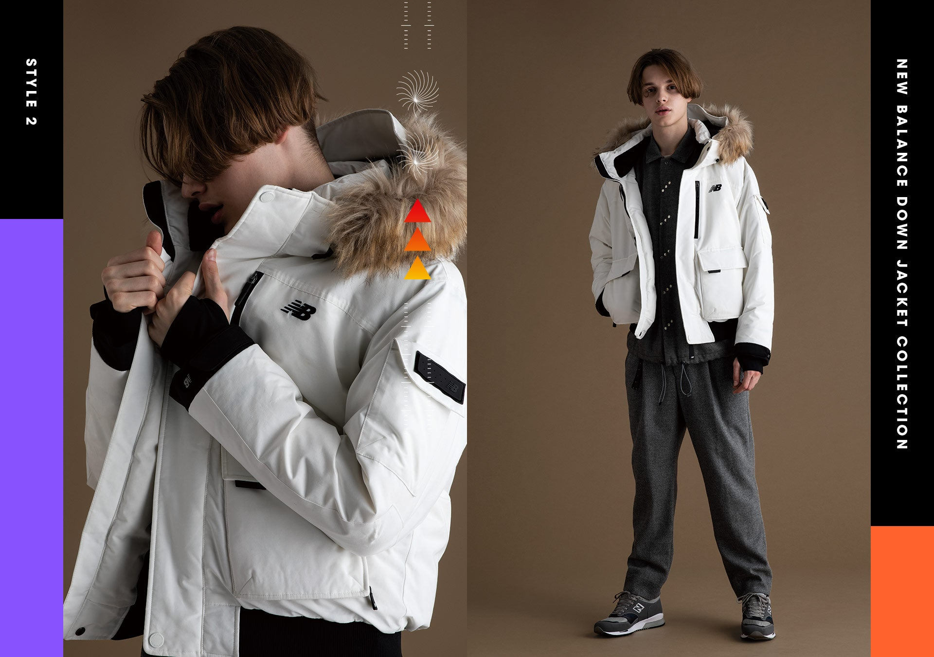 UTILITY GOOSE SHORT DOWN JACKET