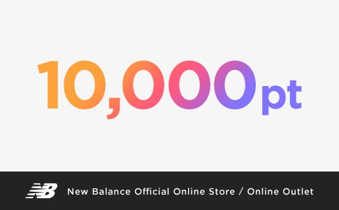 New Balance Official Online Store / Online Outlet 10,000pt
